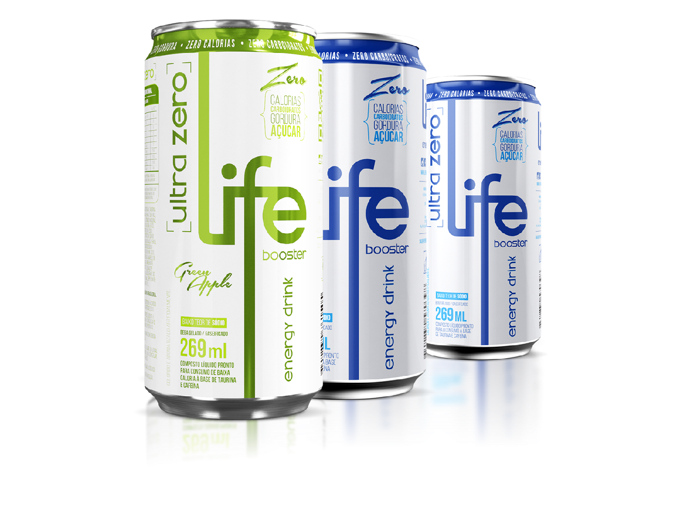 life Booster Energy Drink sabores